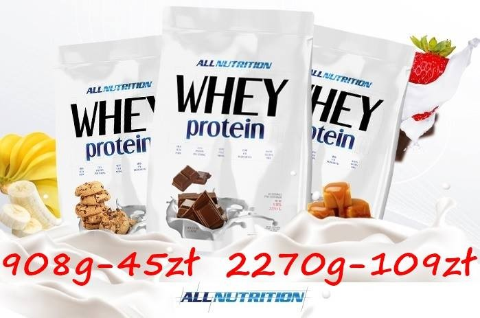 all nutrition whey