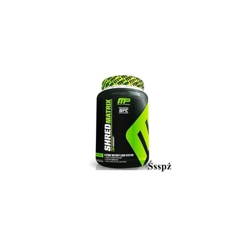 Muscle Pharm Shred Matrix 120kaps