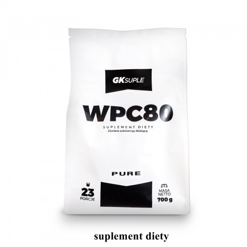 GKsuple Pure WPC 80 700g natural whey białko