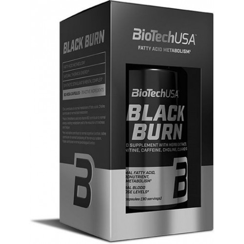 BioTech USA Black Burn 90 kaps