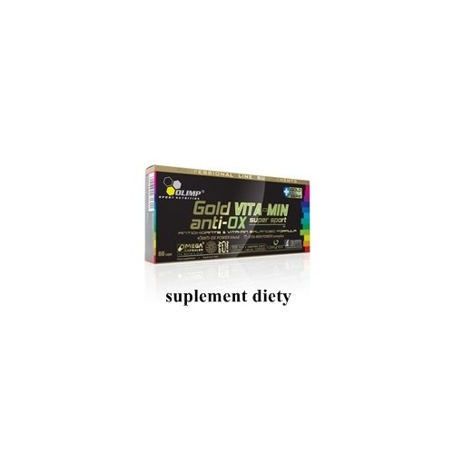 Olimp GOLD VITA-MIN anti-OX super sport 60 kaps